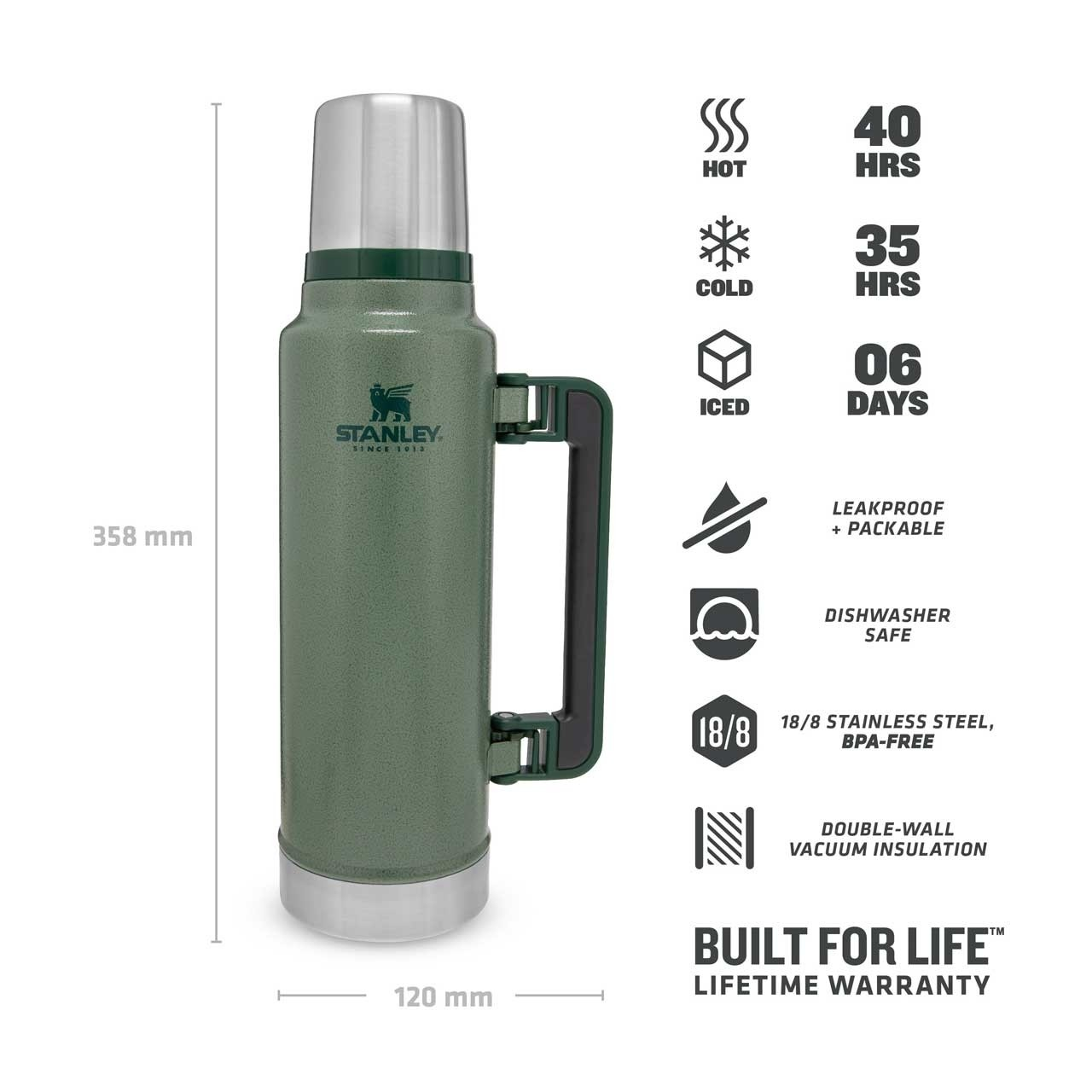 Thermo - Flasche Stanley Classic 1,4 l