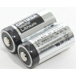 Lithium - Batterie CR123A 3V Panasonic (Doppelpack)